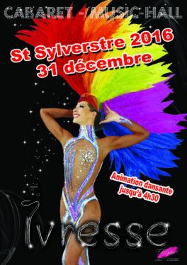 Soirée 31 decembre 2016 Cabaret Elegance