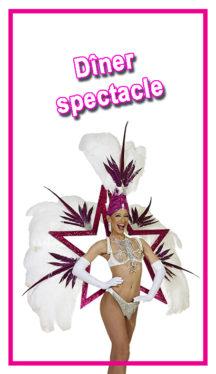 dejeuner spectacle loire 42 cabaret l'Elegance, diner spectacle rhone alpes auvergne