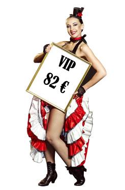Menu VIP Cabaret Elegance
